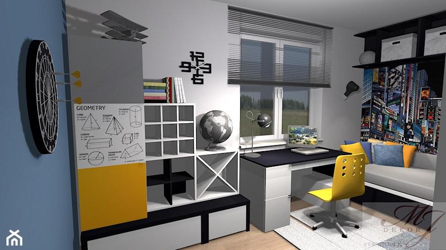 Mieszkanie 72m2 osiedle Idea Park Ostrołęka - Pokój dziecka, styl nowoczesny - zdjęcie od MJ Dekor