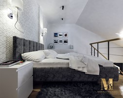 Sypialnia+na+antresoli+-+zdj%C4%99cie+od+Monika+Staniec+Interior+Design