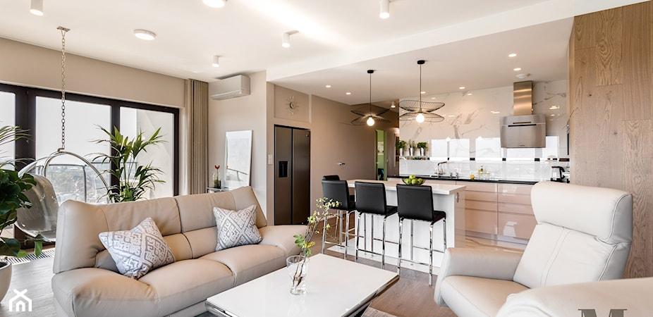 Jak urządzić mieszkanie w apartamentowcu? Ten projekt Cię zainspiruje