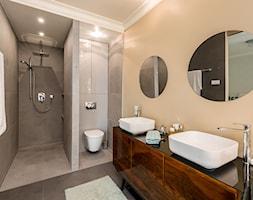 Strefa prysznicowa - zdjęcie od Monika Staniec Interior Design