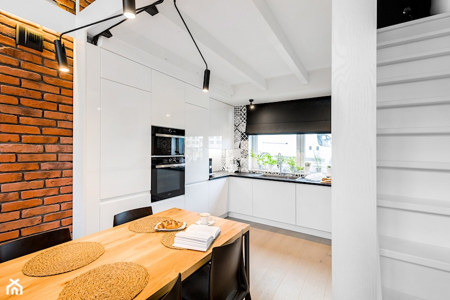 Kuchnia Pod Antresolą Zdjęcie Od Monika Staniec Interior