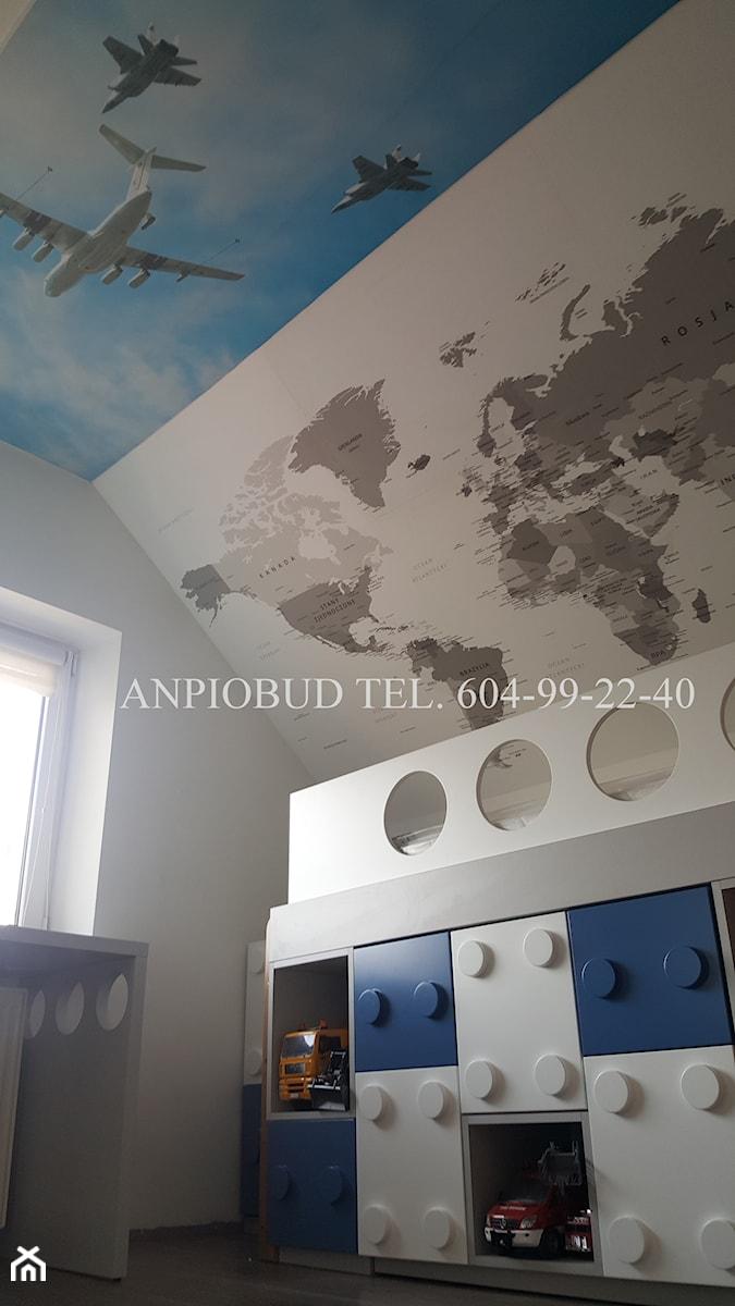 pokój na poddaszu - zdjęcie od Sufitowe Rewolucje - sufity napinane kompleksowy montaż
