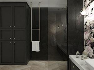 Łazienka inna niż wszystkie - Średnia kolorowa łazienka w domu jednorodzinnym bez okna, styl art deco - zdjęcie od Illa Design