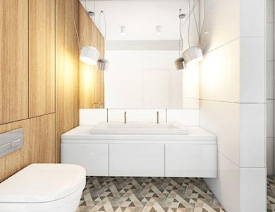 Łazienka styl Skandynawski - zdjęcie od Pracownia InSide