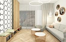 Salon styl Skandynawski - zdjęcie od Pracownia InSide