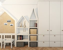 Pokój dziecka styl Skandynawski - zdjęcie od Pracownia InSide