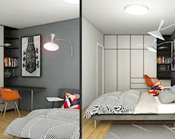 Sypialnia styl Industrialny - zdjęcie od Pracownia InSide