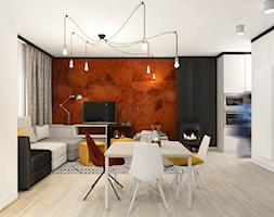 Salon z jadalnią - zdjęcie od Pracownia InSide