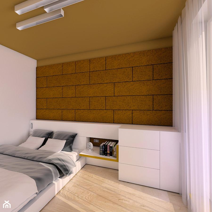 Rude wnętrze - Sypialnia, styl nowoczesny - zdjęcie od Pracownia InSide