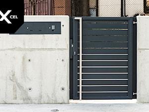 Simply Concrete. Nowoczesne ogrodzenie z betonu i aluminium