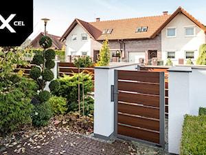 Nutshell. Aluminiowe ogrodzenie drewnopodobne