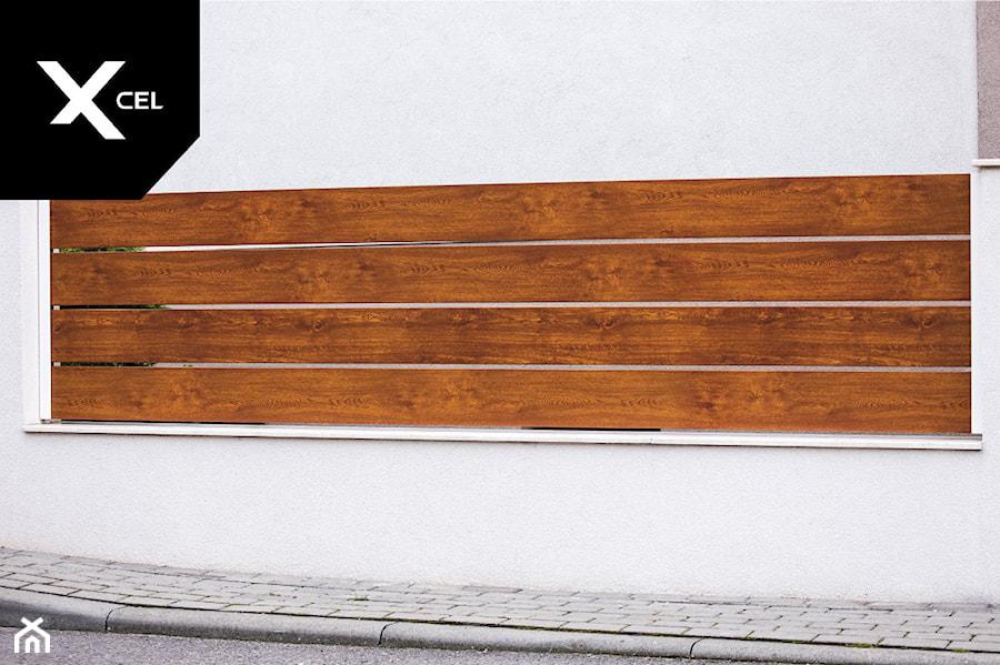 Aluminiowe ogrodzenie Horizon Massive - zdjęcie od XCEL Ogrodzenia