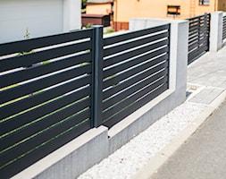 Grafitowe+ogrodzenie+aluminiowe+-+zdj%C4%99cie+od+XCEL+Ogrodzenia