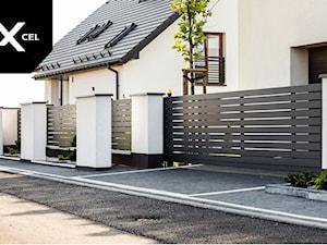 Duality. Nowoczesne ogrodzenie aluminiowe marki Xcel - zdjęcie od XCEL Ogrodzenia
