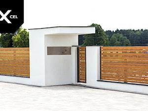 White Wood. Nowoczesne ogrodzenie aluminiowe marki Xcel