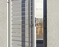 Biała furtka aluminiowa - zdjęcie od XCEL Ogrodzenia - Homebook