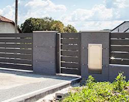 Nowoczesne+Ogrodzenie+Xcel+Horizon+Beton+Architektoniczny+Ogrodzenia+-+zdj%C4%99cie+od+XCEL+Ogrodzenia