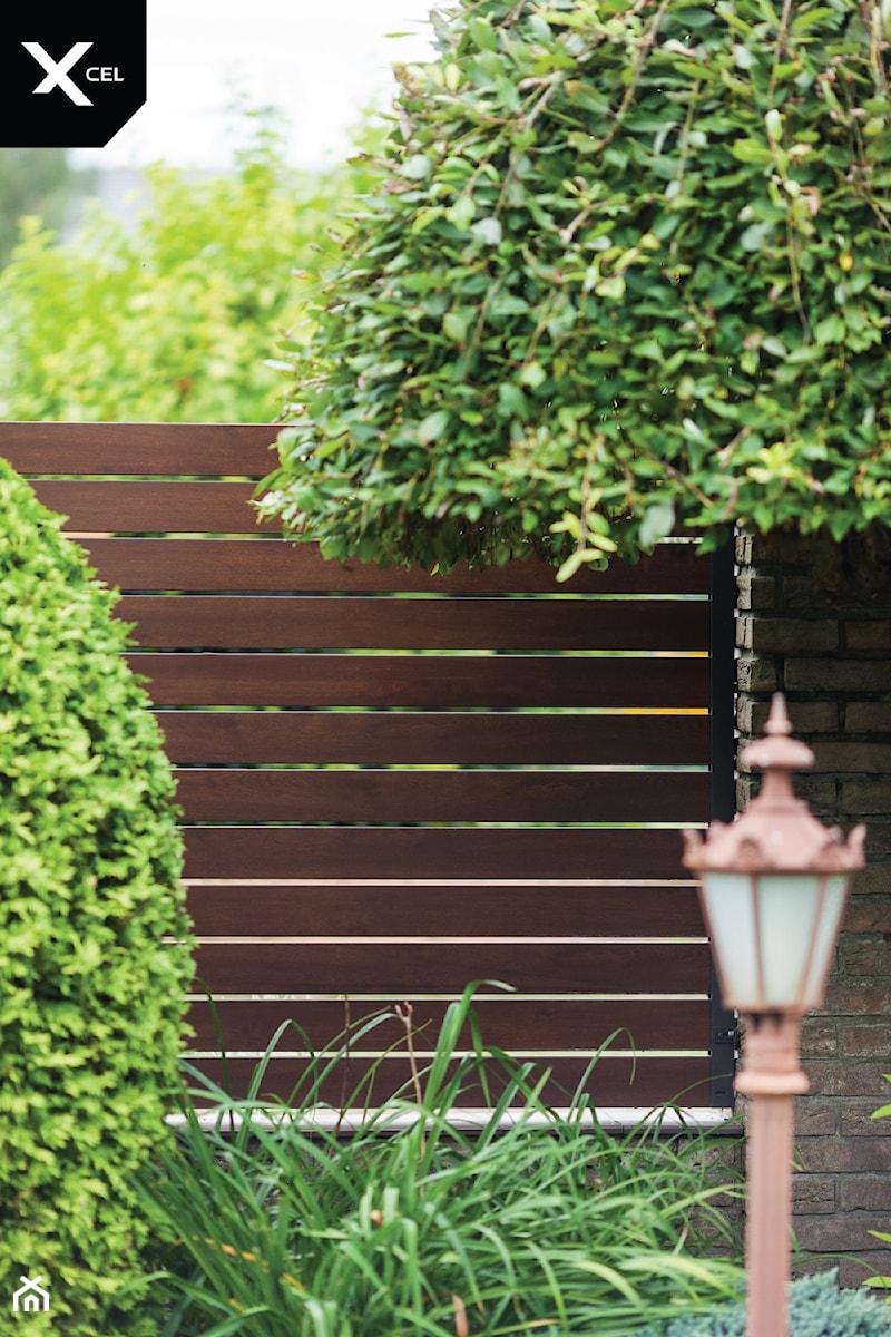Drewnopodobne przęsła ogrodzeniowe - zdjęcie od XCEL Ogrodzenia