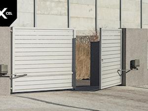 White Sands. Nowoczesne ogrodzenie aluminiowe w kolorze białym