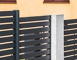 Grafitowe+ogrodzenie+wykonane+z+aluminium+-+zdj%C4%99cie+od+XCEL+Ogrodzenia