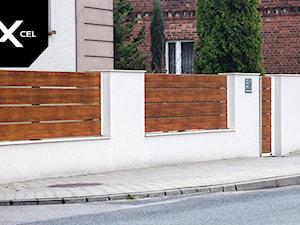 Modern Wood. Nowoczesne ogrodzenie Xcel
