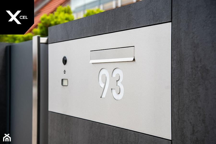 Nowoczesna skrzynka na listy - zdjęcie od XCEL Ogrodzenia