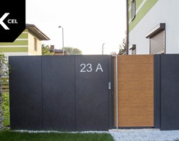 Nowoczesna+furtka+aluminiowa+-+zdj%C4%99cie+od+XCEL+Ogrodzenia