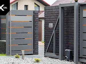 Double. Nowoczesne ogrodzenie aluminiowe