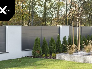 Misty Night. Minimalistyczne ogrodzenie aluminiowe