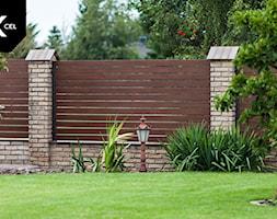 Aluminiowe ogrodzenie drewnopodobne - zdjęcie od XCEL Ogrodzenia - Homebook