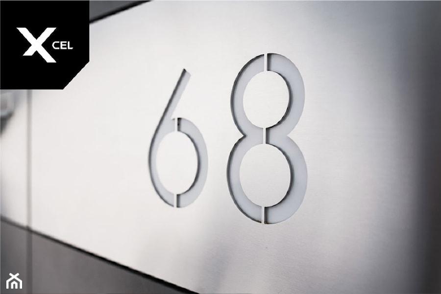 Wycinany laserowo numer domu - zdjęcie od XCEL Ogrodzenia