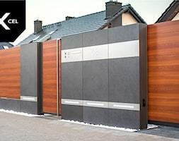 Nowoczesne+ogrodzenie+Xcel.+Rockina+Cubero+%2B+Horizon+Massive+-+zdj%C4%99cie+od+XCEL+Ogrodzenia