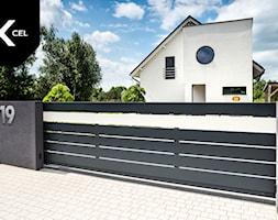 Nowoczesne ogrodzenie aluminiowe Horizon Massive - zdjęcie od XCEL Ogrodzenia