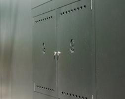 Ogrodzenie z ukrytą skrzynką gazomierza - zdjęcie od XCEL Ogrodzenia - Homebook