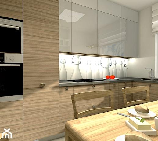 Kuchnia zamknięta  zdjęcie od Design One Barbara Chociej -> Kuchnia Weglowa Barbara