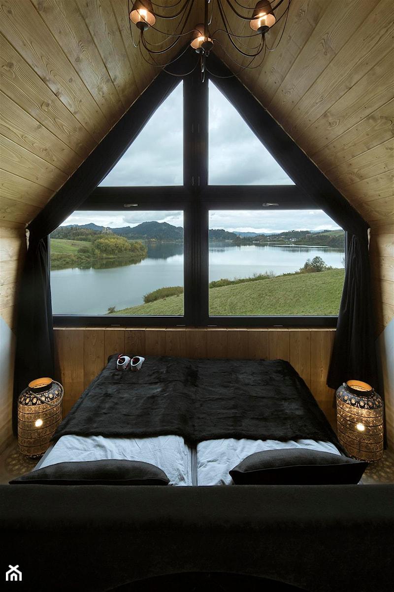 Mountain Cottage Mała Sypialnia Małżeńska Na Poddaszu