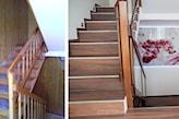 płytki na schody drewnopodobne