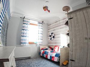 Pokój dla chłopca, inspirowany morzem - konkurs - zdjęcie od Ewa Weber - Pracownia Projektowa