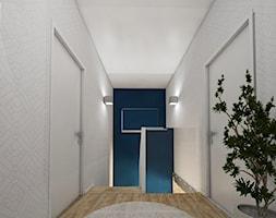 DOM NA ZŁOTNIE - Mały biały hol / przedpokój, styl nowoczesny - zdjęcie od LUIZA STAR - Homebook