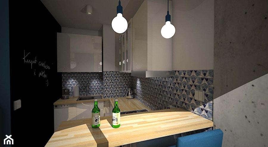 Aranżacje wnętrz - Kuchnia: Blue - PAVO DESIGN. Przeglądaj, dodawaj i zapisuj najlepsze zdjęcia, pomysły i inspiracje designerskie. W bazie mamy już prawie milion fotografii!