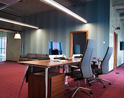 Wnętrza biurowca - Wnętrza publiczne, styl nowoczesny - zdjęcie od Pracownia Projektowa Architektury Krajobrazu Januszówka