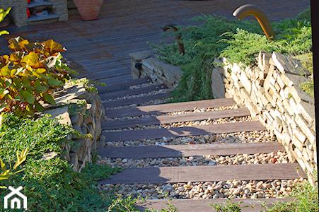 Z czego zbudować schody ogrodowe?