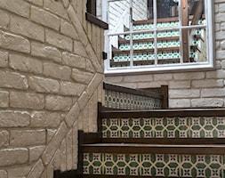 Aranżacje - Schody, styl rustykalny - zdjęcie od Elkamino Dom