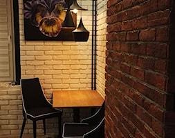 Aranżacje - Mała otwarta jadalnia, styl eklektyczny - zdjęcie od Elkamino Dom