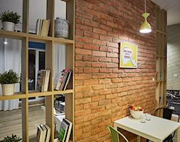 Aranżacje - Mała otwarta jadalnia jako osobne pomieszczenie, styl eklektyczny - zdjęcie od Elkamino Dom - Homebook