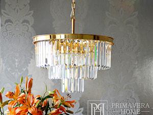 Nowoczesne oświetlenie w stylu Glamour - żyrandole i lampy