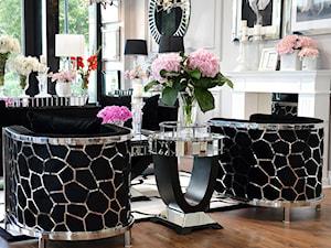 Meble Glamour krzesła stoły sofy