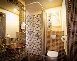 Mozaika Szklana Brązowa-złota KMC06 - zdjęcie od PRIMAVERA-HOME.COM