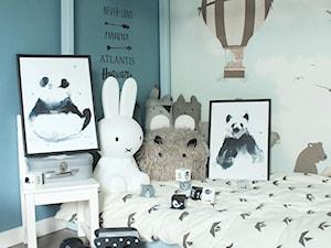 Tapeta pokój dziecięcy BALONY różowe+niebieskie 3 - zdjęcie od PRIMAVERA-HOME.COM