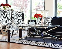 Krzesło tapicerowane nowoczesne glamour do jadalni CONCORDIA - zdjęcie od PRIMAVERA-HOME.COM
